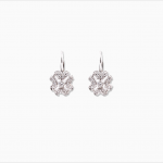 Boucle d'oreilles Dormeuse Diamants