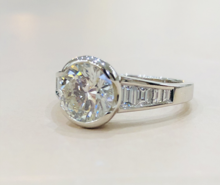 Bague Contemporaine Diamant