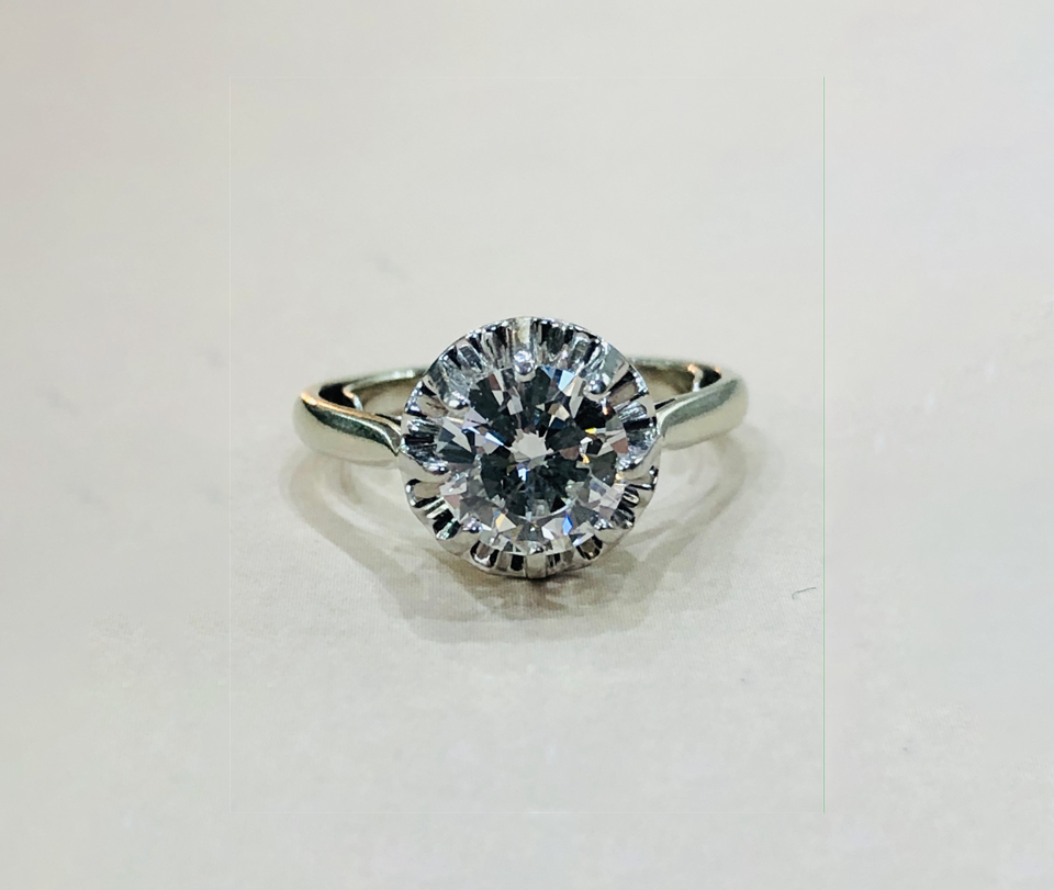 Solitaire 1,59 carats